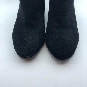 """Crown Vintage Shoes - Crown Vintage """"Tabitha"""" Black Suede Booties"""